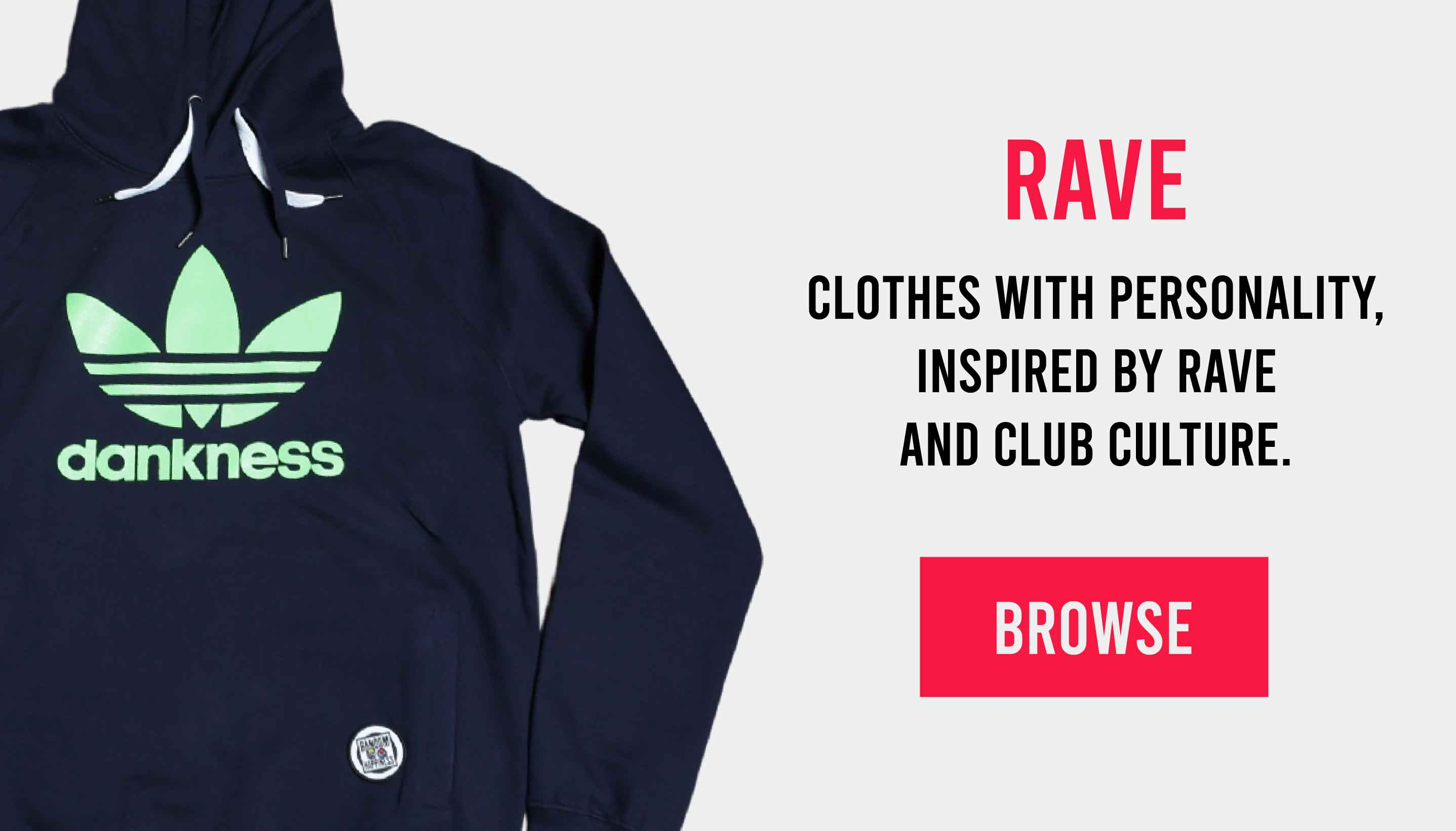 Rave clothing - shop now