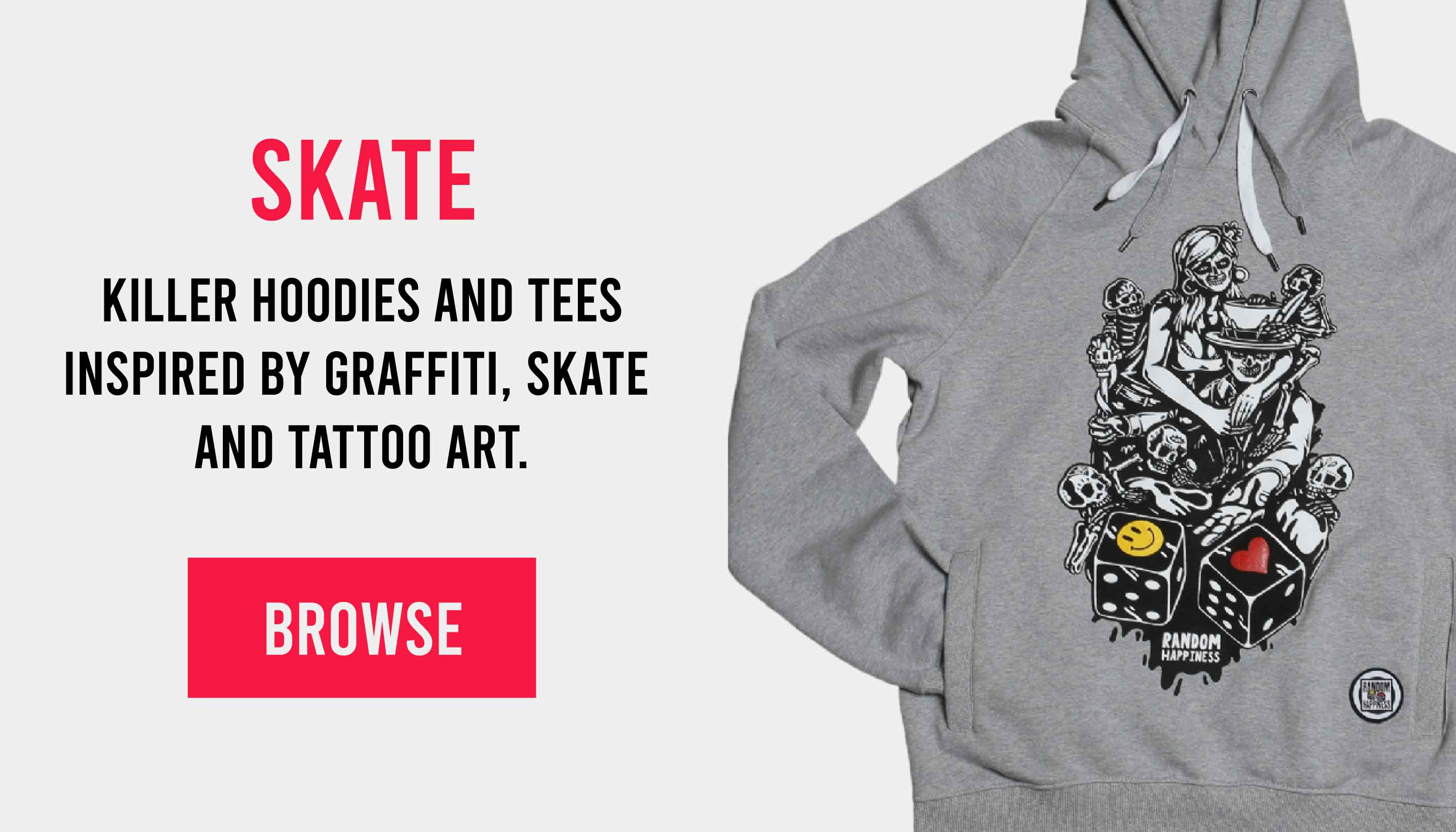 Skate clothing - shop now